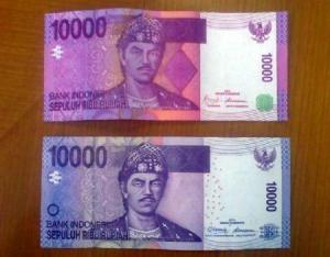 uang kertas baru 10000