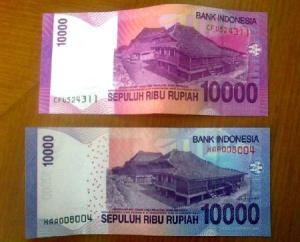 uang baru 10000